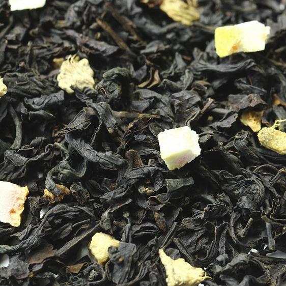 Имбирный - черный чай с натуральными добавками