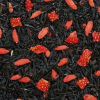 Годжи Земляника - черный чай с природными добавками