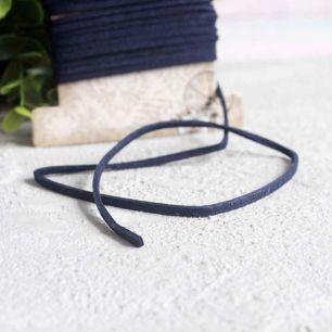 """Декоративный шнур """"Замша черная"""", 3 м. * 0,2 см."""