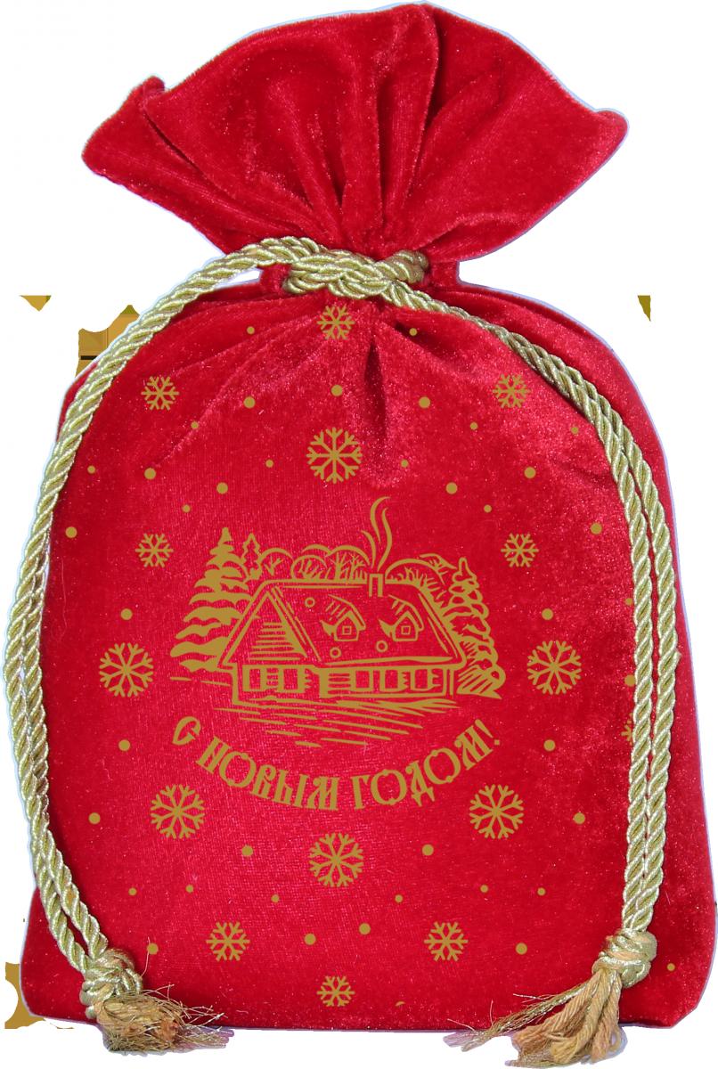 Бархатный 1300 грамм красный