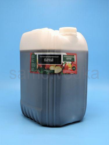 Сок яблочный концентрированный, канистра 25 кг
