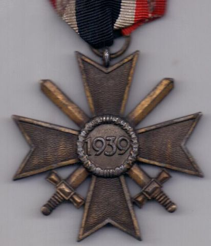орден 1939 года AUNC Крест за военные заслуги