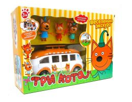 """Игровой набор """"Автобус"""" Три кота"""