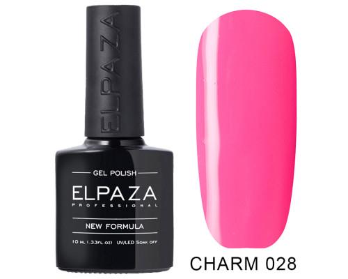 ELPAZA ГЕЛЬ-ЛАК  Charm 028  Бикини (Ярко-розовый)   10 мл