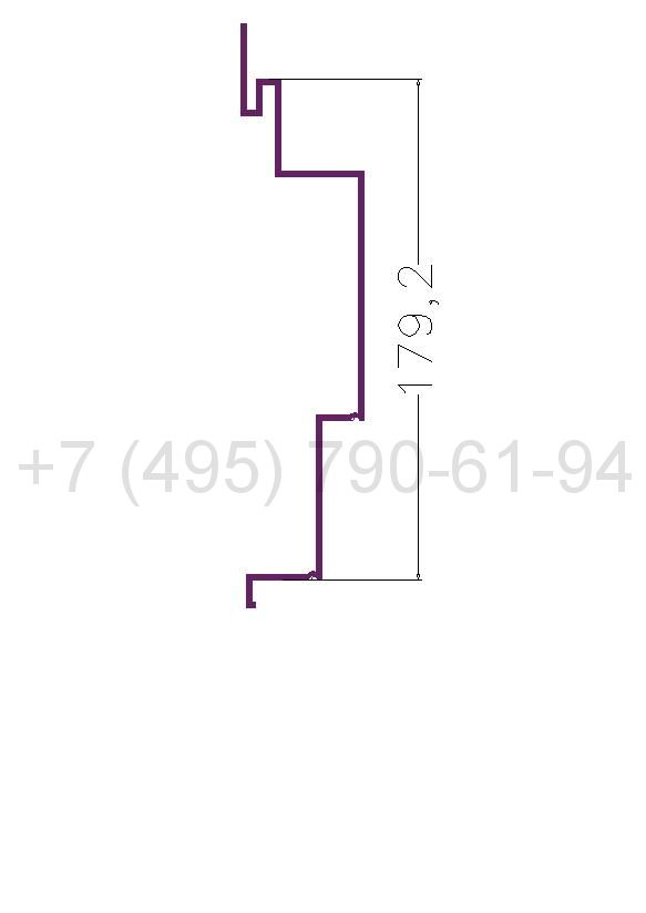 RD 3 Рейка алюминиевая (6,0) RAL