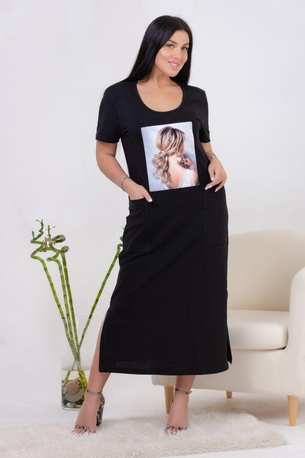Платье 13459 [черный]