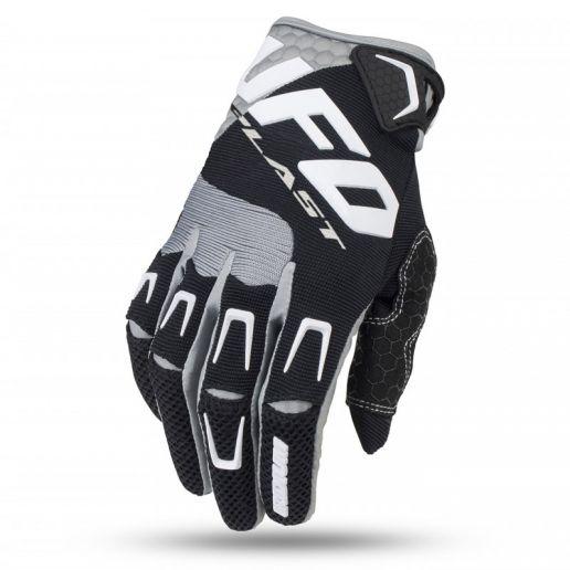 UFO Iridium Glove Black перчатки для мотокросса, черные