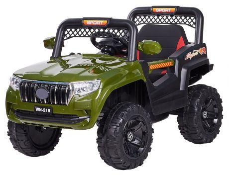 Джип электромобиль (2021) ML350 зелёный