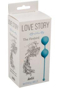 Вагинальные шарики Lola Love Story The Firebird голубые
