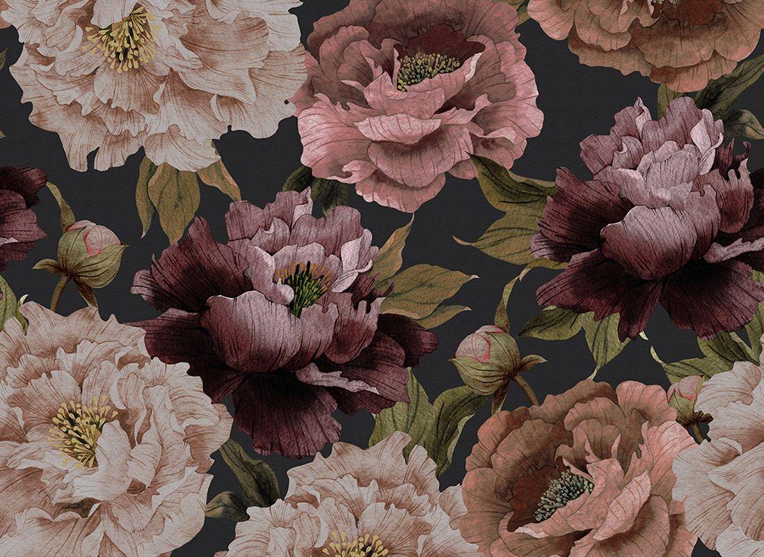 Floral Affair Black