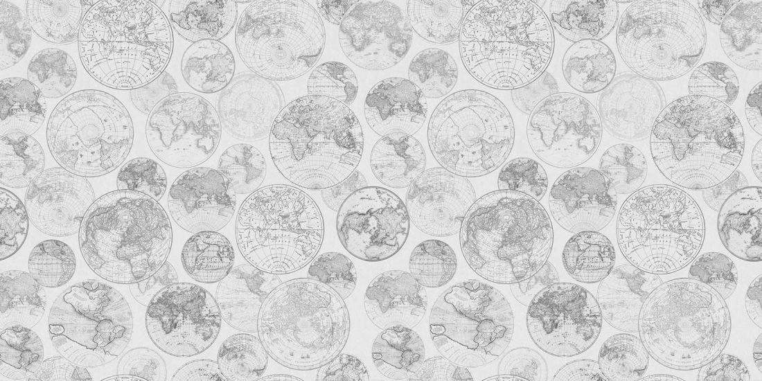Globes, Black and white