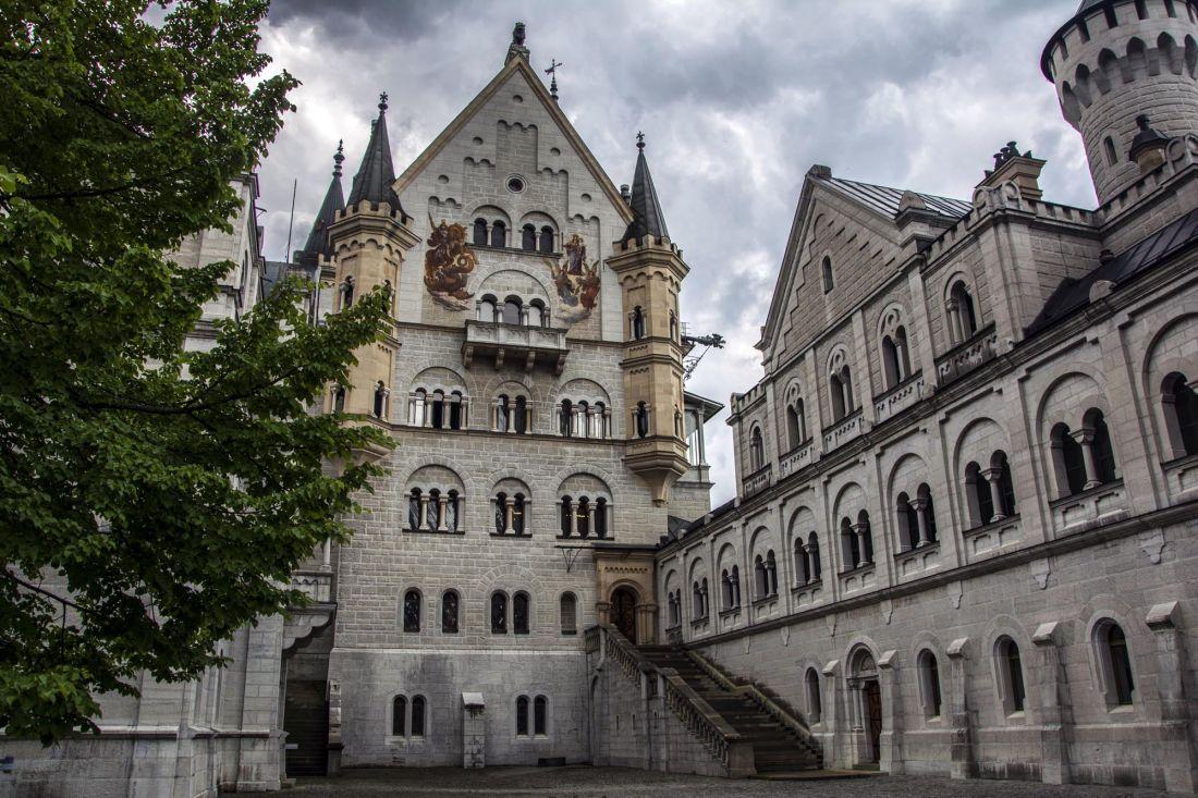 Замок Нойшванштайн 2-171kd
