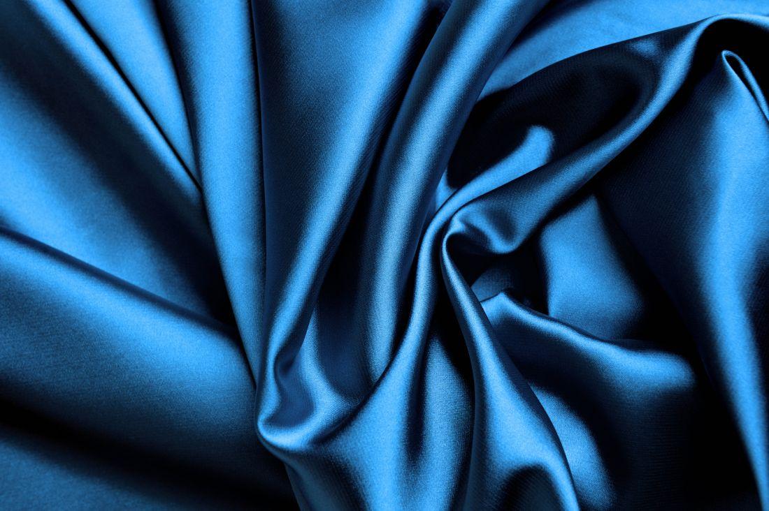 Абстракция синяя ткань 5-024