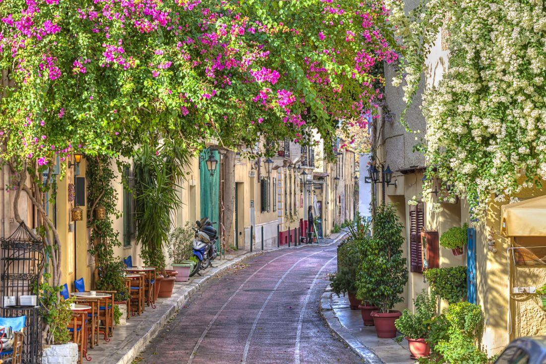 Улочка Афины Греция 22-008