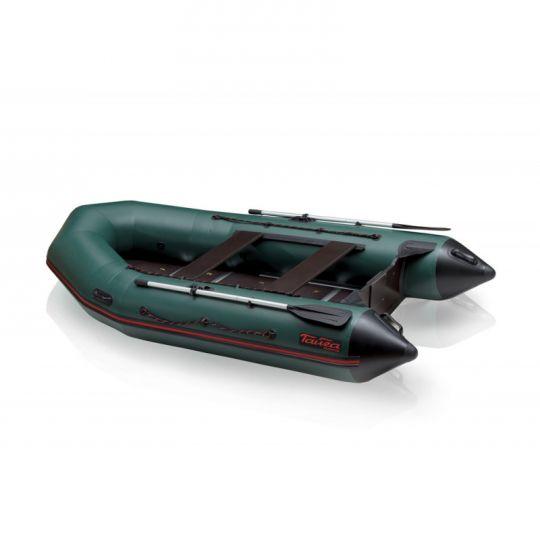 Лодка ПВХ Тайга Nova 340 килевая С-Пб зеленая