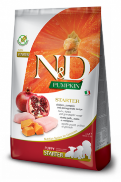N&D Pumpkin Chicken & Pomegranate Starter Puppi (Курица, гранат и тыква для щенков всех пород)