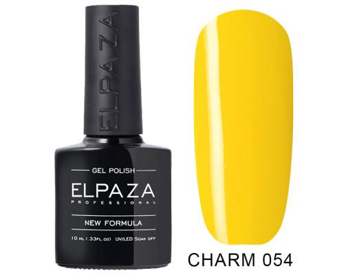ELPAZA ГЕЛЬ-ЛАК  Charm 054  Ананасовый смузи (Желтый)  10 мл