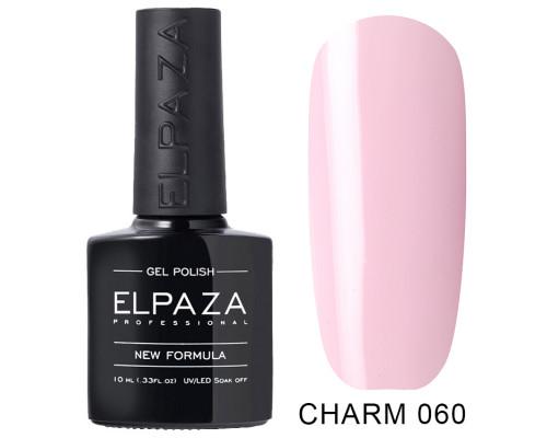 ELPAZA ГЕЛЬ-ЛАК  Charm 060 Медленный танец (Светло-розовый)  10 мл