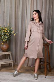 Платье-сафари для беременных и кормящих, сафари