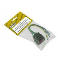 RK04176 * Разъем к электроприводу и датчику положения дроссельной заслонки для 8-кл. двигателей с электропедалью акселератора (с проводами сечением 0,5 кв.мм, длина 120 мм)