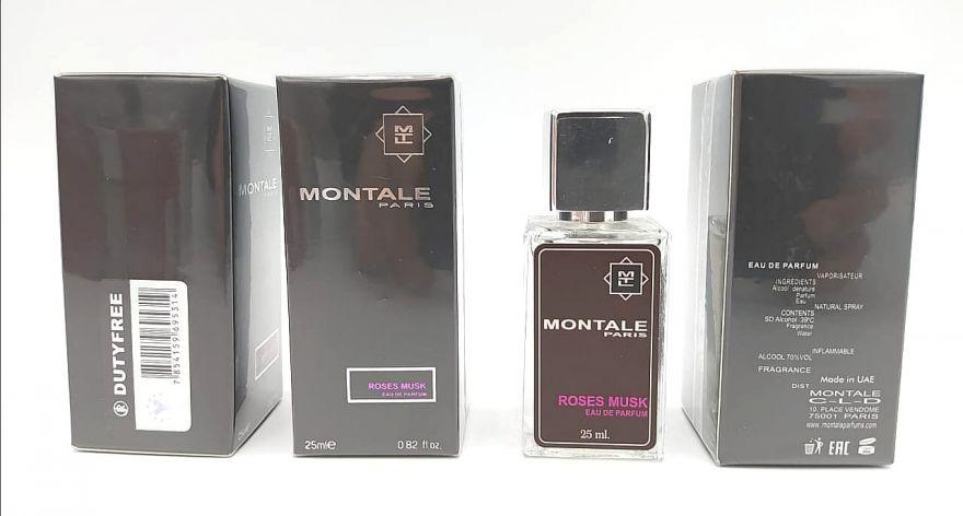 Суперстойкие 25 мл - Montale Roses Musk