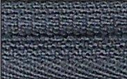 фото Молния юбочная спираль №3  неразъемная со стоппером 14 см разные цвета (ЮБ3/14)