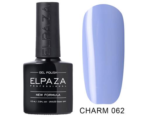 ELPAZA ГЕЛЬ-ЛАК  Charm 062  Герань (Светло-синий)  10 мл
