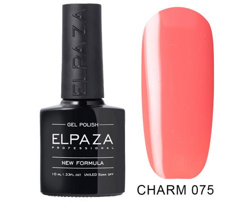 ELPAZA ГЕЛЬ-ЛАК  Charm 075  Тропический (Персиково-розовый)  10 мл