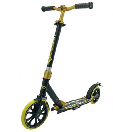 Самокат ТТ 210 jogger черно-желтый