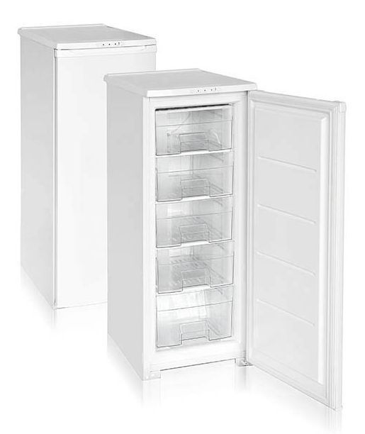 Морозильник Бирюса 114 Белый