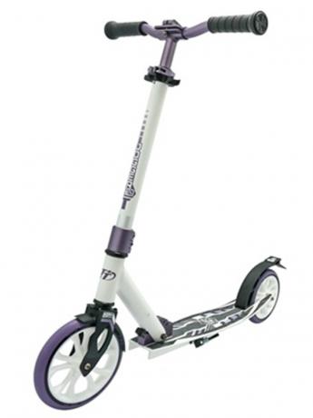 Самокат ТТ 210 jogger бело-фиолетовый