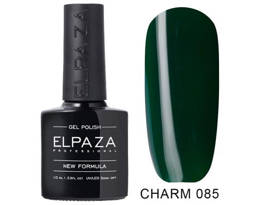 ELPAZA ГЕЛЬ-ЛАК  Charm 085  Тёмный лес (Темно-зеленый)  10 мл