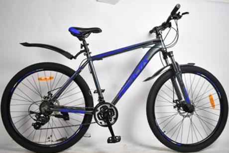 "Велосипед 27,5"" Rook MA271D серый/синий"