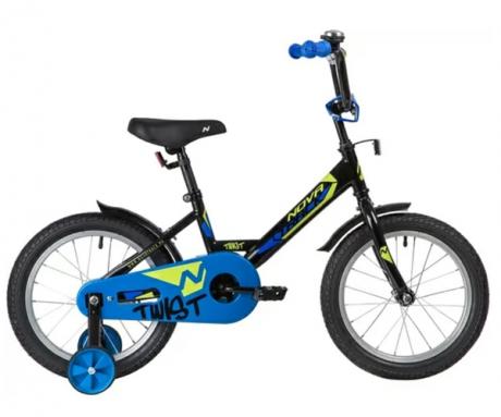 """Велосипед NOVATRACK 12"""" TWIST чёрный"""