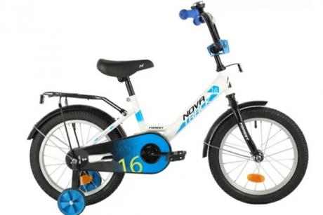 """Велосипед NOVATRACK 14"""", FOREST, белый"""