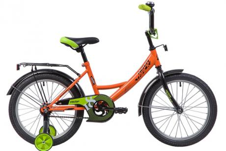 """Велосипед NOVATRACK 18"""", VECTOR, оранжевый"""