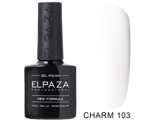 ELPAZA ГЕЛЬ-ЛАК  Charm 103 Монреаль (Белый) 10 мл