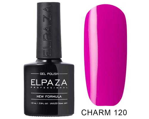 ELPAZA ГЕЛЬ-ЛАК  Charm 120  Вербена (Яркий фиолетово-розовый)  10 мл