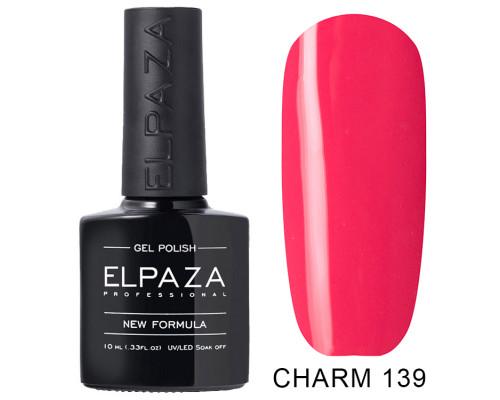 ELPAZA ГЕЛЬ-ЛАК  Charm 139  Маковые поля (Красно-розовый) 10  мл