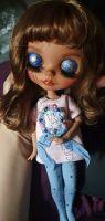 Кукла blythe doll custom 3