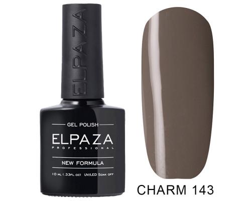 ELPAZA ГЕЛЬ-ЛАК  Charm 143  Яшма (Серый)  10  мл