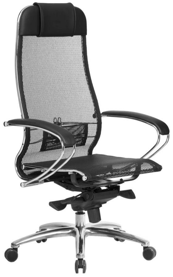 Компьютерное кресло Метта Samurai S-1.04 Чёрное