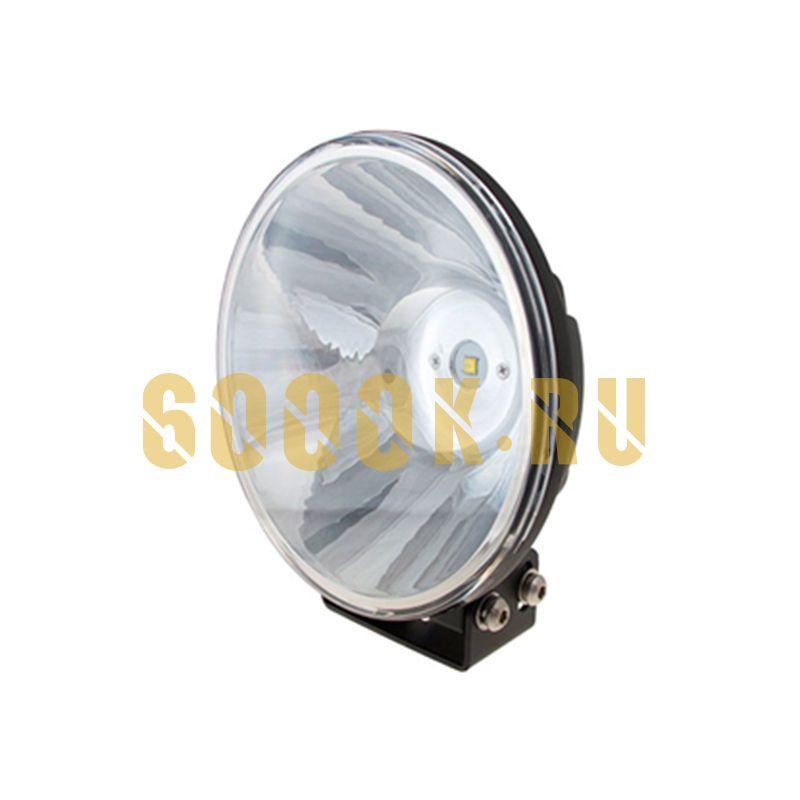 Круглая светодиодная фара дальнего света (узкий луч) 50W