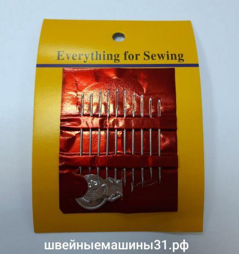 Иглы для ручного шитья.     Цена 50 руб