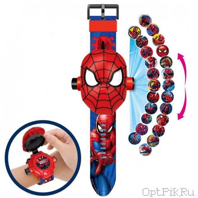 """Электронные часы с проектором """"Человек паук"""""""