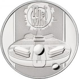 Легенды рок музыки «The Who» 5 фунтов Великобритания 2021 на заказ