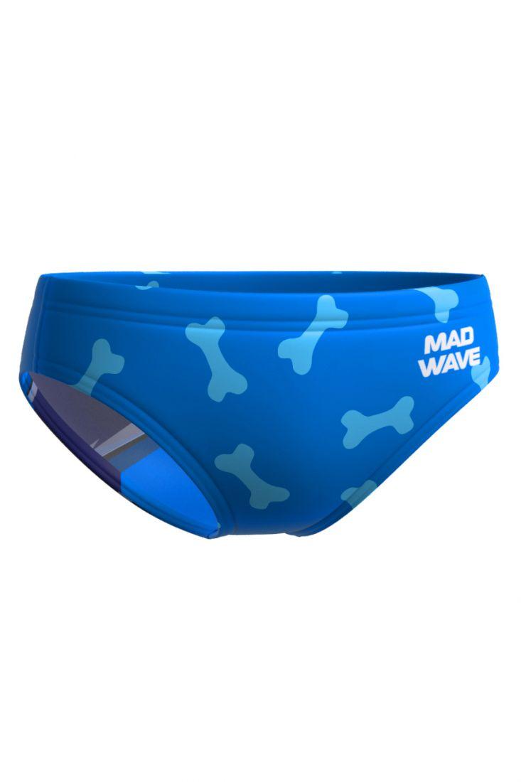 Плавки детские тренировочные Mad Wave Alex K5 синие