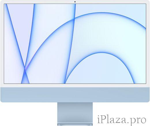 "Apple iMac 24"" Retina 4,5K, M1 (8C CPU, 8C GPU), 8 ГБ, 256 ГБ SSD, синий, MGPK3RU/A"