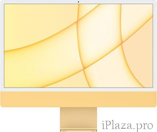 """Apple iMac 24"""" Retina 4,5K, M1 (8C CPU, 8C GPU), 8 ГБ, 256 ГБ SSD, жёлтый, Z12S000BK"""