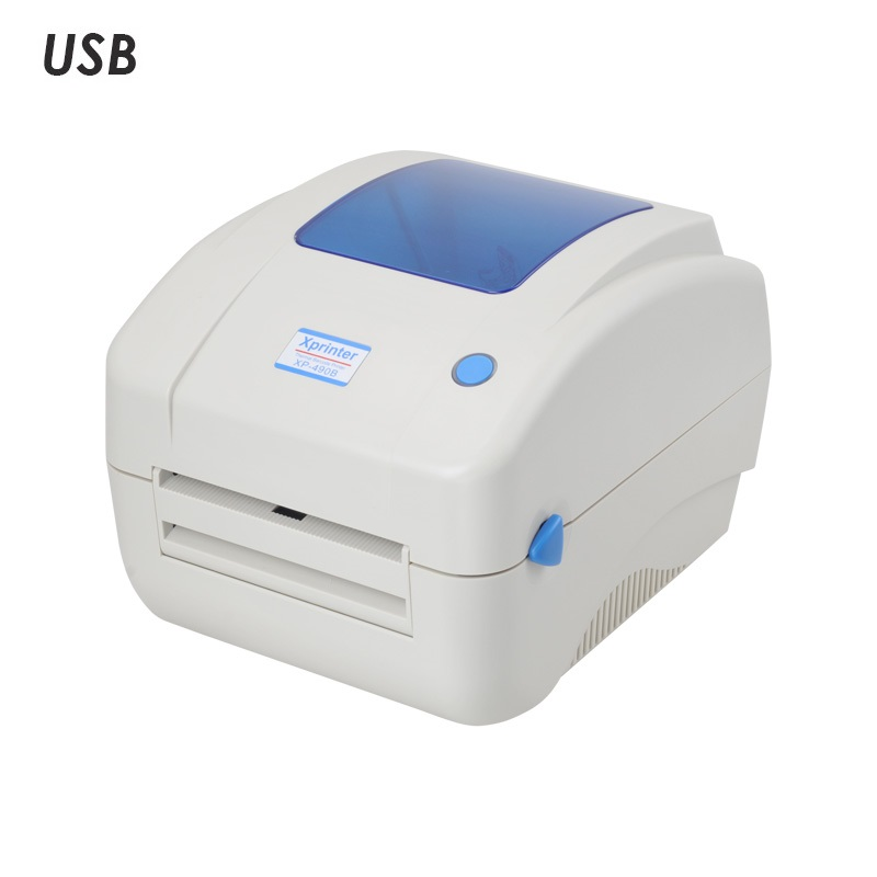 Термопринтер этикеток Xprinter XP-490B бежевый